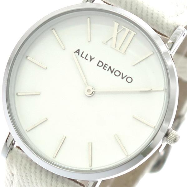 アリーデノヴォ ALLY DENOVO ニュービンテージ New Vintage 腕時計 レディース 36mm AF5006-1 DENIM クオーツ ホワイト