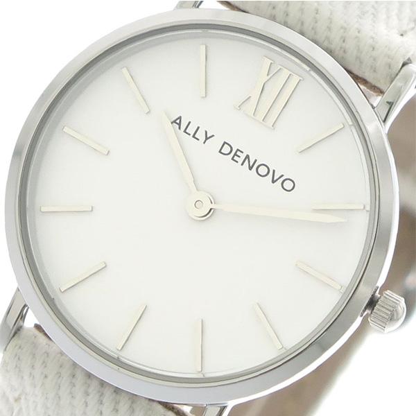 アリーデノヴォ ALLY DENOVO ミニニュービンテージ Mini New Vintage 腕時計 レディース 30mm AS5006-1 DENIM クオーツ ホワイト