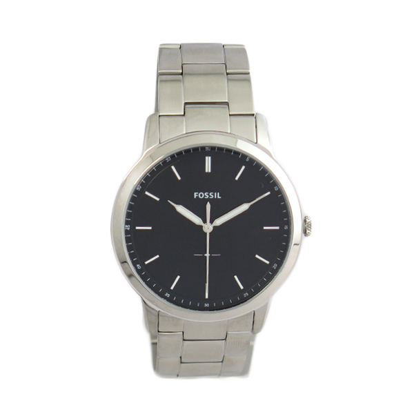フォッシル FOSSIL 腕時計 メンズ FS5307 クオーツ ブラック シルバー