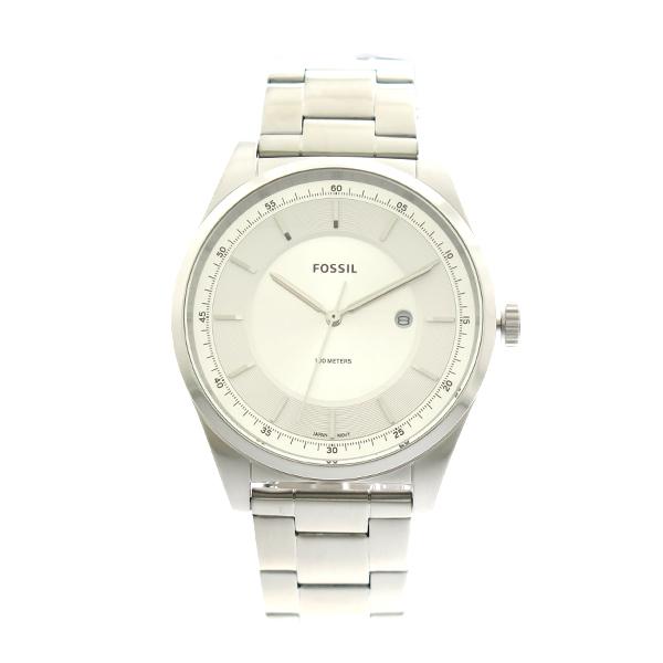 フォッシル FOSSIL 腕時計 メンズ FS5424 クオーツ ホワイトシルバー シルバー