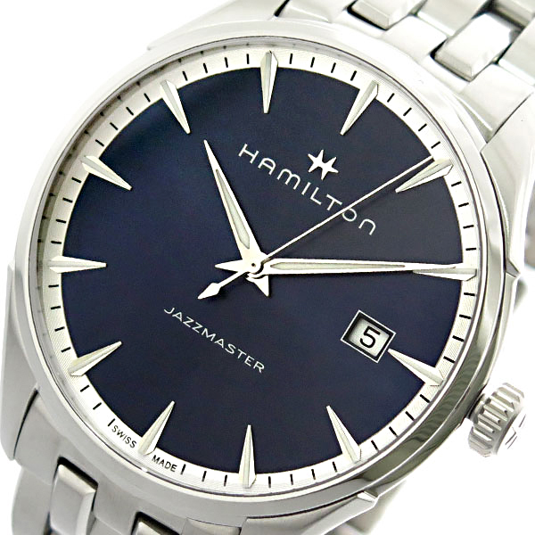 ハミルトン HAMILTON 腕時計 メンズ H32451141 クオーツ ネイビー シルバー