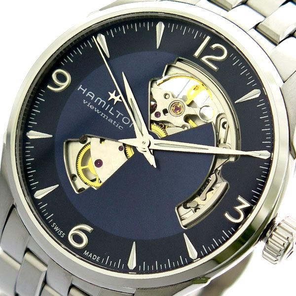 ハミルトン HAMILTON 腕時計 メンズ H32705141 自動巻き ネイビー シルバー