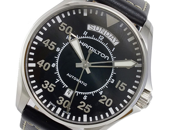 ハミルトン HAMILTON カーキ パイロット 自動巻 メンズ 腕時計 H64615735