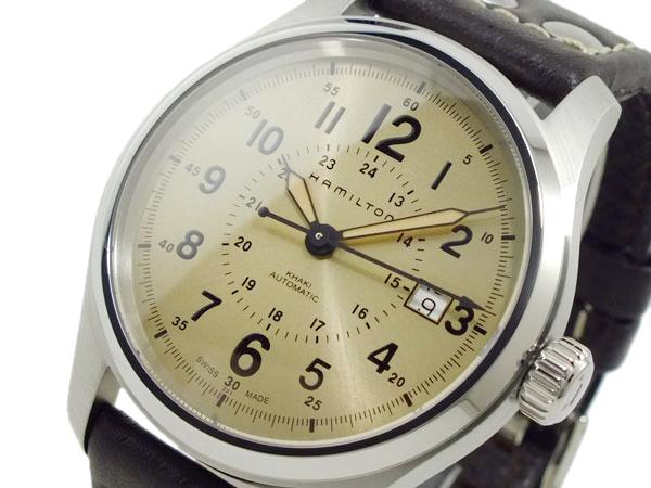ハミルトン HAMILTON カーキフィールド オート 自動巻き メンズ 腕時計 H70595523