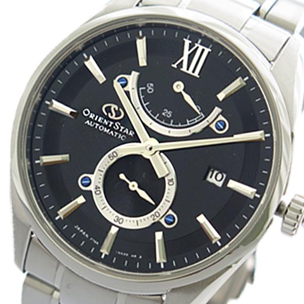 オリエント ORIENT オリエントスター ORIENT STAR 腕時計 メンズ RK-HK0003B 自動巻き ブラック シルバー