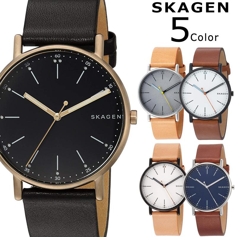 【3年保証】 スカーゲン レディース メンズ ユニセックス SKAGEN 腕時計 スカーゲン 時計 ホワイト ベージュ ネイビー ブラウン SIGNATUR シグネチャー おしゃれ スカーゲン 時計 SKW6352 SKW6355 SKW6374 SKW6401 SKW6373