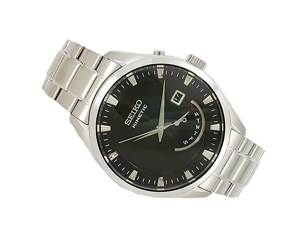 3年保証セイコー SEIKO キネティック KINETIC クオーツ メンズ 腕時計 SRN045P1 海外モデルYgyfv7b6