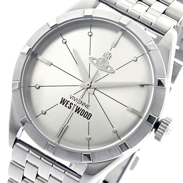 ヴィヴィアン ウエストウッド Vivienne Westwood 腕時計 メンズ VV192SLSL クオーツ シルバー