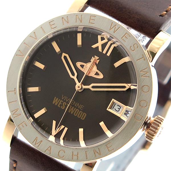 ヴィヴィアン ウエストウッド Vivienne Westwood 腕時計 メンズ レディース ユニセックス VV203BRBR クオーツ ブラウン