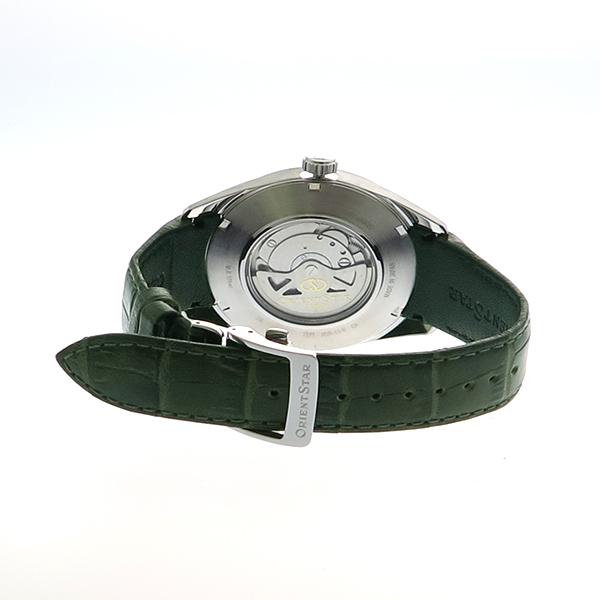 オリエント ORIENT オリエントスター ORIENT STAR 腕時計 メンズ WZ0091JC 自動巻き グレーシルバー カーキ