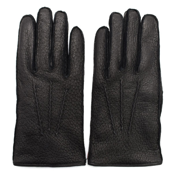 デンツ DENTS 高級手袋 グローブ 革 防寒 メンズ ブラック Lサイズ #8 1/2 15-1077