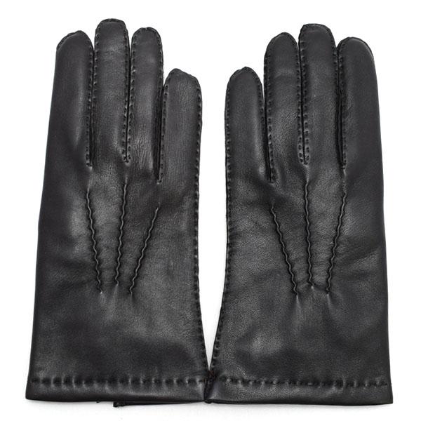 デンツ DENTS 高級手袋 グローブ 革 防寒 メンズ ブラック Mサイズ #8 5-1542