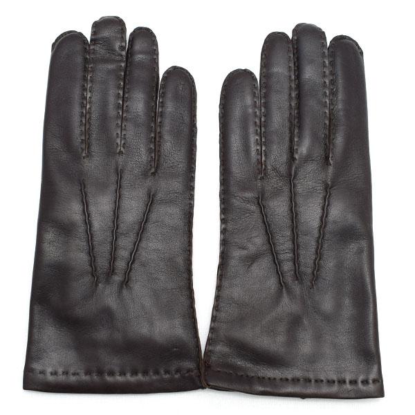 デンツ DENTS 高級手袋 グローブ 革 防寒 メンズ ブラウン Mサイズ #8 5-1542