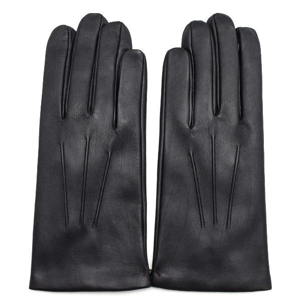 デンツ DENTS 高級手袋 グローブ 革 防寒 メンズ ブラック Sサイズ #7 1/2 5-9001