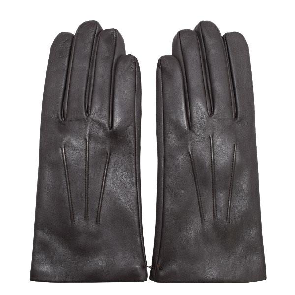 デンツ DENTS 高級手袋 グローブ 革 防寒 メンズ ブラウン Lサイズ #8 1/2 5-9001