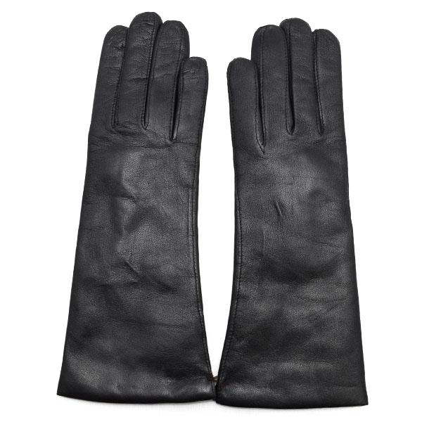 デンツ DENTS 高級手袋 グローブ 革 防寒 レディース ブラック Lサイズ #7 1/2 7-1096