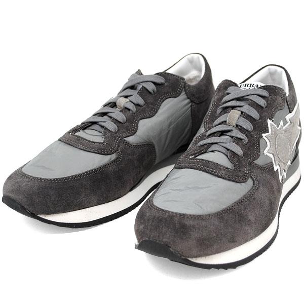 アーバンサン URBAN SUN ALAIN 101 アレイン ANTRACITE グレー キャンバス×スエード メンズ スニーカー 靴 URBANSUN 39 40 41 42 43 44 45