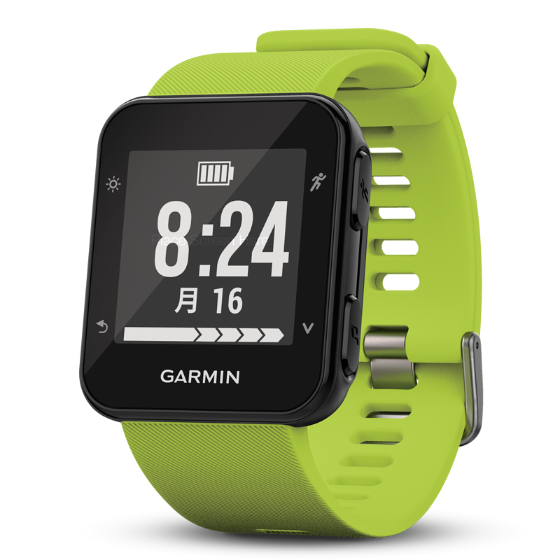 【1年保証付き】【国内正規品】 ガーミン GARMIN ForeAthlete35J Lime Green スマートウォッチ 腕時計 フォーアスリート35J ランニングウォッチ ライムグリーン 010-01689-39