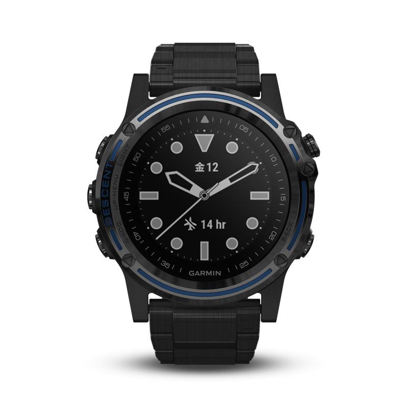 【1年保証付き】【国内正規品】 ガーミン GARMIN Descent Mk1 Ti 腕時計 ディーセントマークワン チタニウム スマートウォッチ ダイビングウォッチ 010-01760-51
