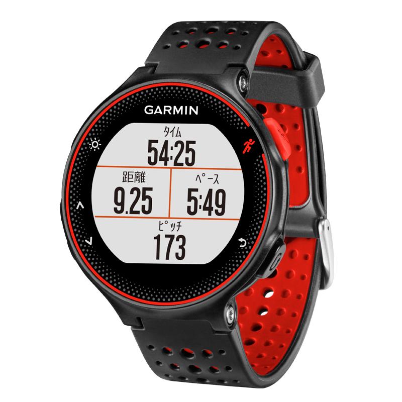 【1年保証付き】【国内正規品】 ガーミン GARMIN ForeAthlete235J Black Red スマートウォッチ 腕時計 フォーアスリート235J ランニングウォッチ ブラックレッド 010-03717-6H