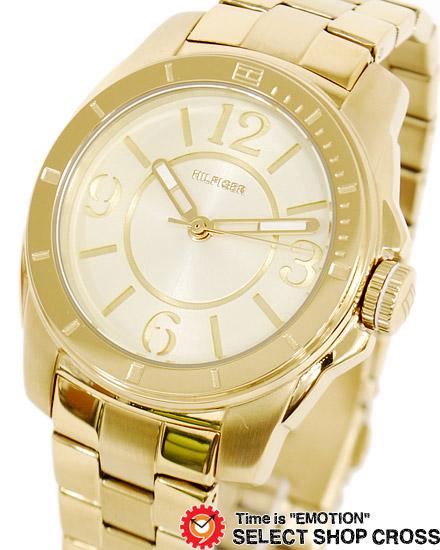 特別セール品 TOMMY 直営限定アウトレット HILFIGER レディース アナログ 1781139 金 腕時計 ゴールド トミー あす楽 ヒルフィガー