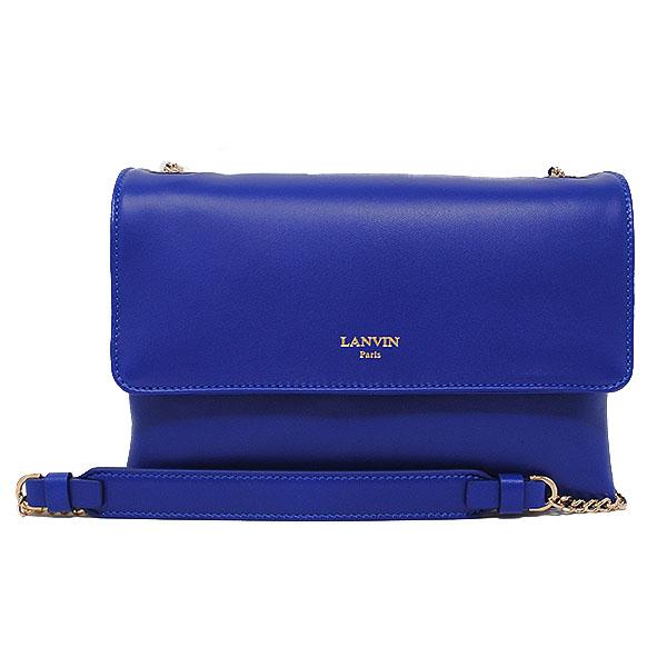 ランバン パリス LANVIN PARIS Shoulder Bag ショルダーバッグ ポーチ レディース バッグ ブルー BGRSL7-EXAA-P17 25