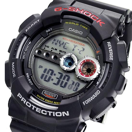 【名入れ対応】 【3年保証】 カシオ CASIO G-SHOCK Gショック 防水 ジーショック 腕時計 メンズ 高輝度LEDバックライト装備 海外モデル GD-100-1ADR ブラック 黒 [国内 GD-100-1AJF と同型] 【あす楽】