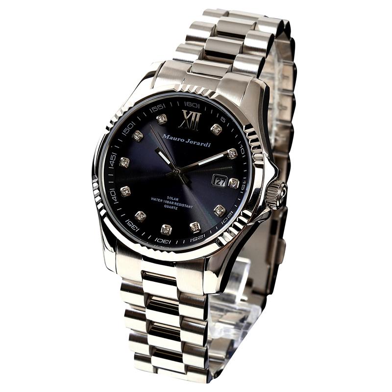 マウロ ジェラルディ Mauro Jerardi ソーラー メンズ 腕時計 MJ037-4