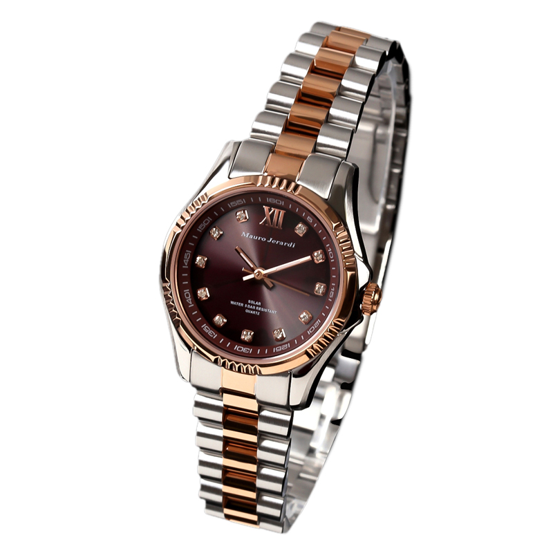 マウロ ジェラルディ Mauro Jerardi ソーラー レディース 腕時計 MJ038-1