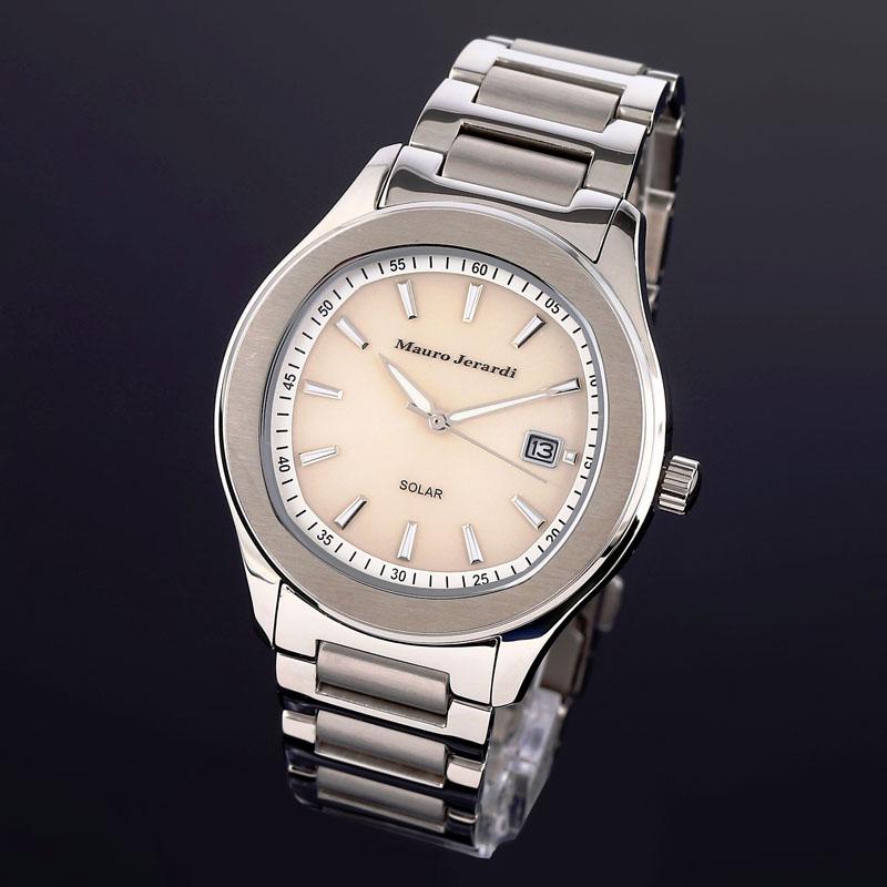 マウロ ジェラルディ Mauro Jerardi ソーラー メンズ 腕時計 MJ053-3