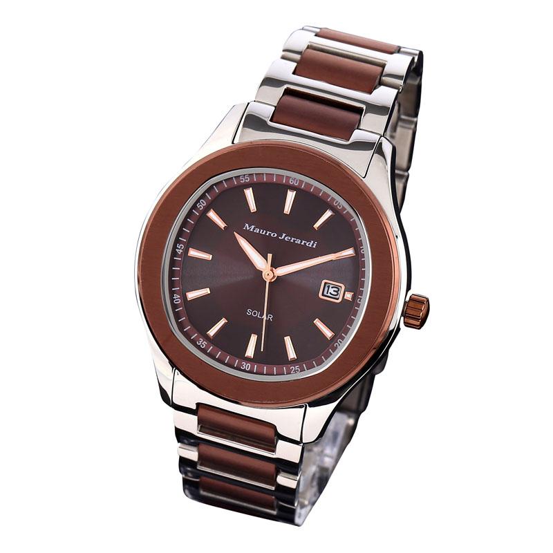 マウロ ジェラルディ Mauro Jerardi ソーラー メンズ 腕時計 MJ053-4