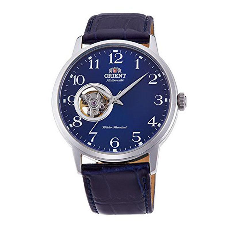 オリエント ORIENT スタンダード STANDARD 腕時計 メンズ 自動巻き オートマチック メカニカル セミスケルトン フルアラビア RN-AG0010L