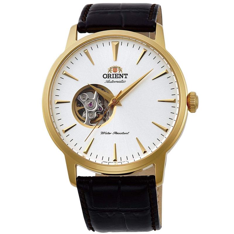 オリエント ORIENT スタンダード STANDARD 腕時計 メンズ 自動巻き オートマチック メカニカル セミスケルトン RN-AG0012S