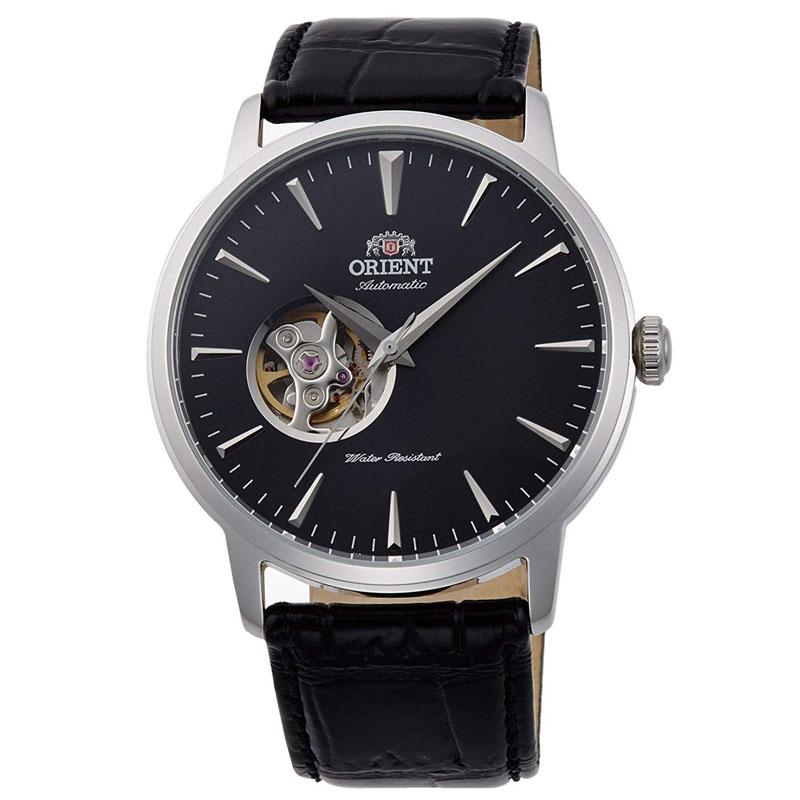 オリエント ORIENT スタンダード STANDARD 腕時計 メンズ 自動巻き オートマチック メカニカル セミスケルトン RN-AG0013B