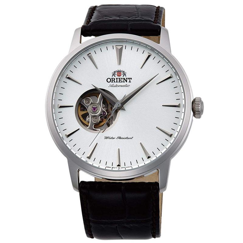 オリエント ORIENT スタンダード STANDARD 腕時計 メンズ 自動巻き オートマチック メカニカル セミスケルトン RN-AG0014S
