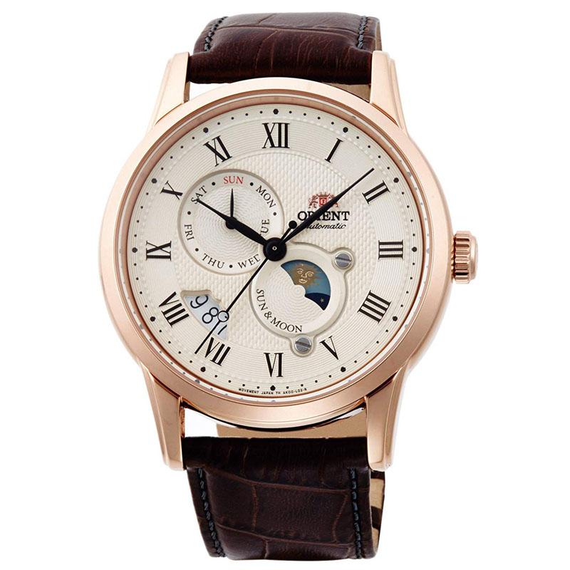 オリエント ORIENT クラシック CLASSIC 腕時計 メンズ 自動巻き オートマチック メカニカル サン&ムーン RN-AK0001S