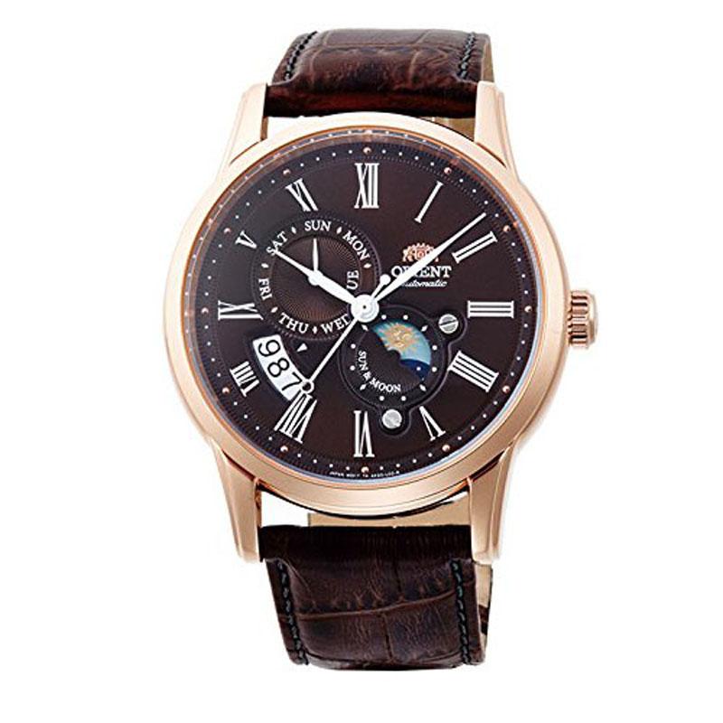 オリエント ORIENT クラシック CLASSIC 腕時計 メンズ 自動巻き オートマチック メカニカル サン&ムーン RN-AK0002Y