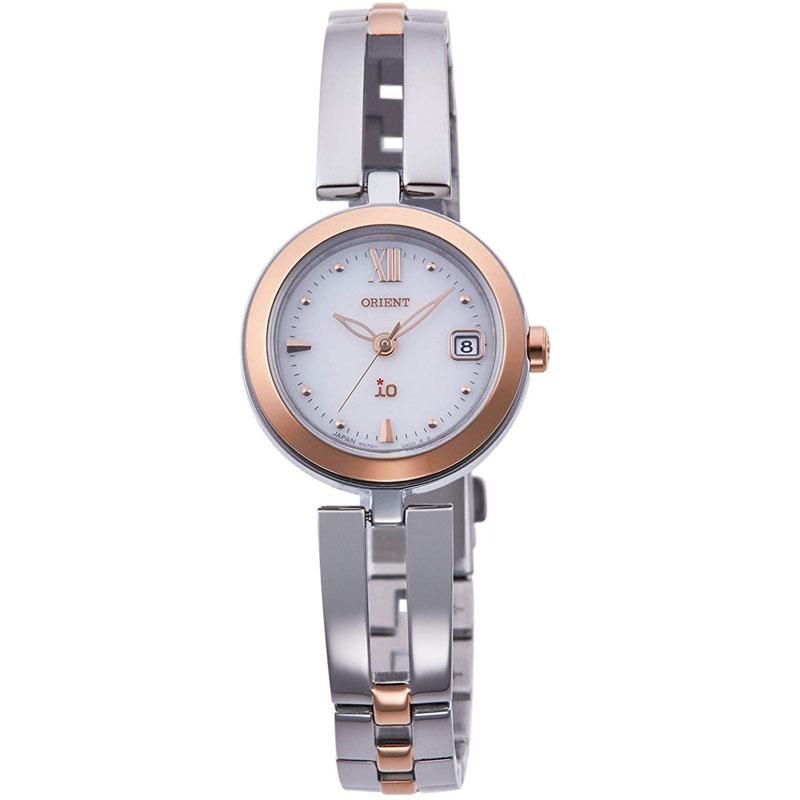 オリエント ORIENT イオ ナチュラル&プレーン ORIENT iO NATURAL&PLAIN ソーラー 腕時計 レディース RN-WG0002S