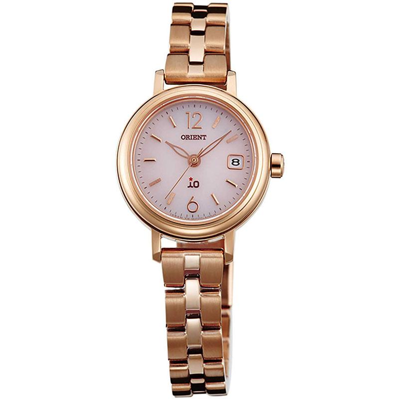 オリエント ORIENT イオ iO ソーラー 腕時計 レディース ナチュラル&プレイン WI0011WG
