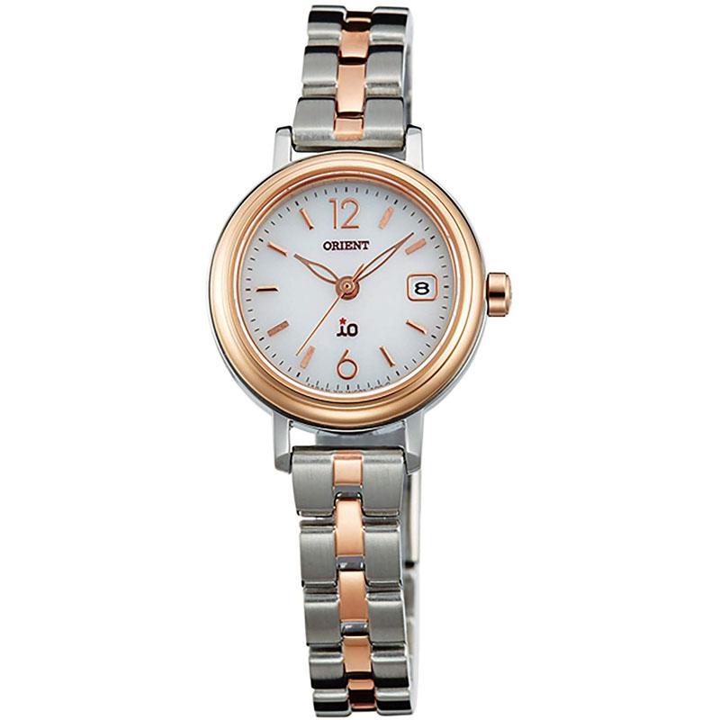 オリエント ORIENT イオ iO ソーラー 腕時計 レディース ナチュラル&プレイン WI0021WG
