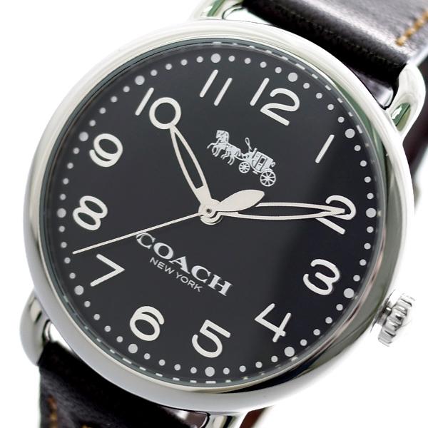 コーチ COACH 腕時計 レディース 14502742 デランシー DELANCEY クオーツ ブラック