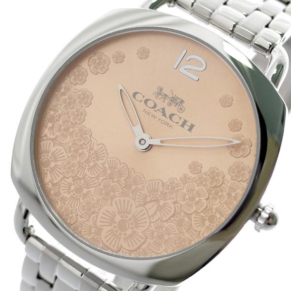 コーチ COACH 腕時計 レディース 14503014 グランド GRAND クオーツ ピンク シルバー