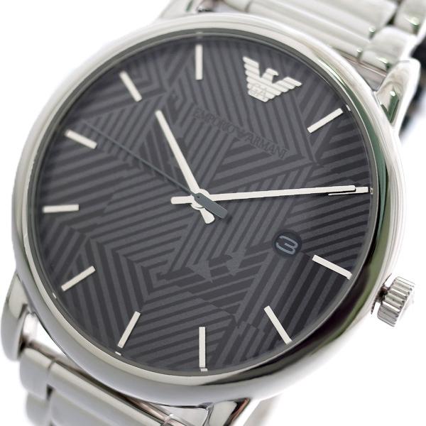 エンポリオ アルマーニ EMPORIO ARMANI 腕時計 メンズ AR11134 クオーツ グレー シルバー