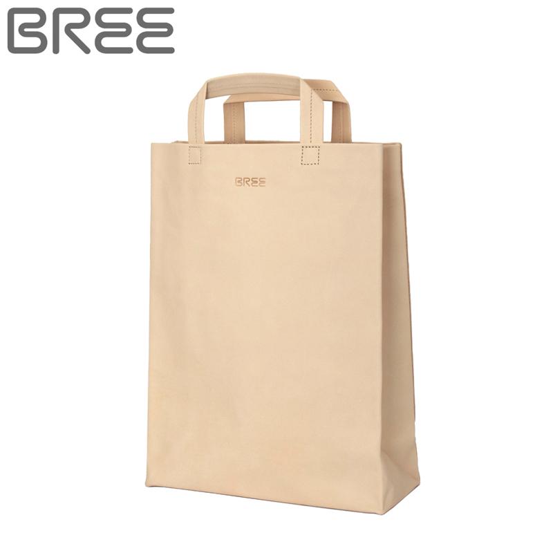 ブリー BREE SIMPLY 1 ネイチャーシリーズ Nature メンズ レディース 手提げバッグ トートバッグ ヌメ革 バッグ カバン 鞄 通勤 180750210 ナチュラル