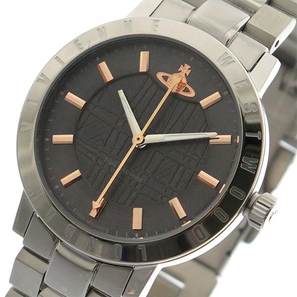 ヴィヴィアン ウエストウッド VIVIENNE WESTWOOD 腕時計 メンズ レディース ユニセックス VV152CHSL クォーツ グレー シルバー