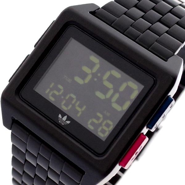 アディダス ADIDAS 腕時計 メンズ レディース Z01-3042 アーカイブ-M1 ARCHIVE-M1 CK3105 クオーツ ブラック