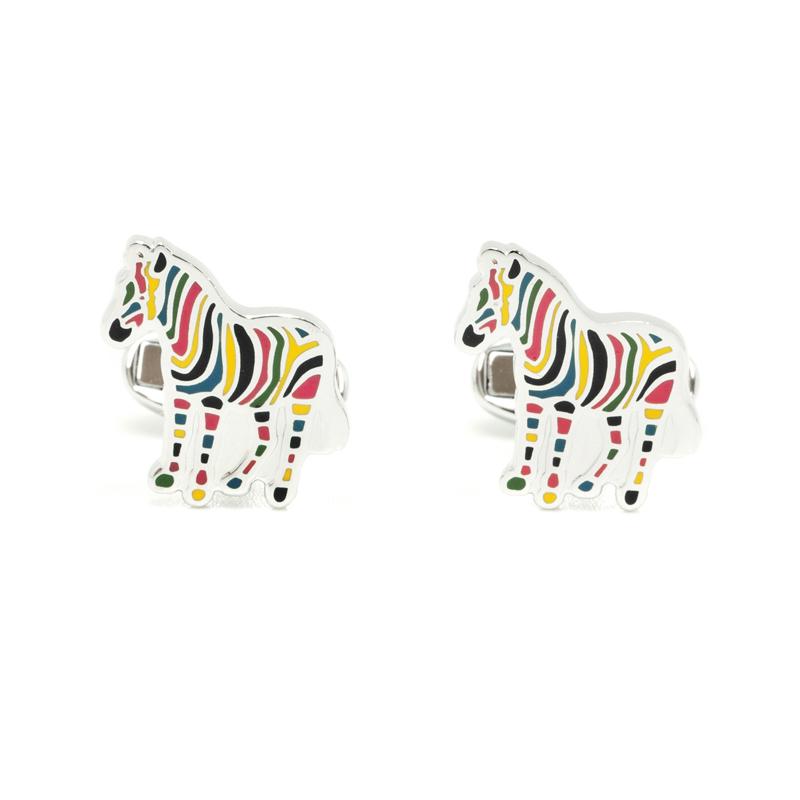 カジュアルからビジネスシーンまで使える時計 財布 バッグ 筆記具を多数ご用意しております プレゼント選びに是非ご覧ください クリスマス 誕生日 記念日 バレンタイン ホワイトデー ポールスミス M1A-CUFF-AZEBRA-97 2020 新作 メンズ 豊富な品 M1A SMITH カフス Zebra ゼブラ AZEBRA PAUL アクセサリー link