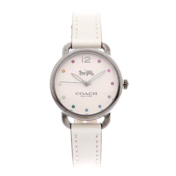 コーチ COACH レディース 腕時計 Delancey デランシー 28mm ホワイト ホワイトレザー 14502915