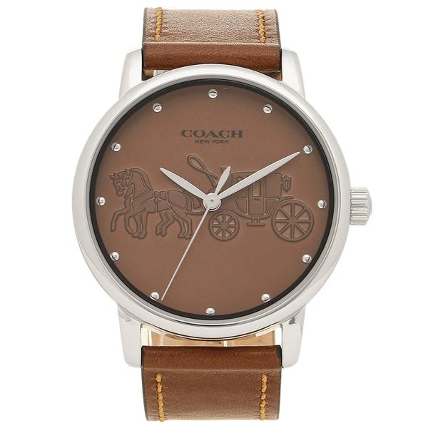 コーチ COACH レディース 腕時計 Grand グランド ブラウン ブラウンレザー 14502972
