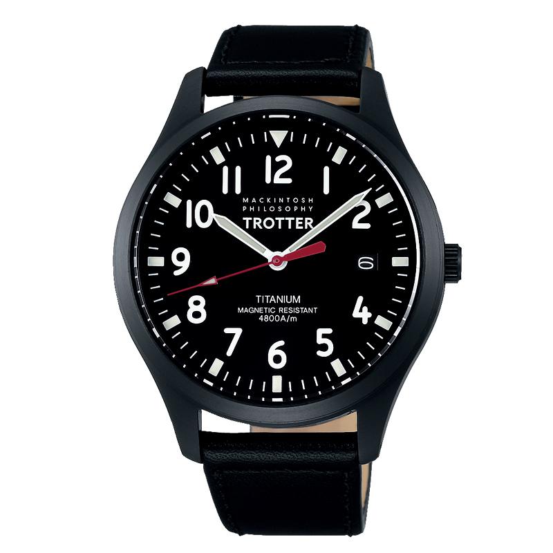 マッキントッシュ フィロソフィー MACKINTOSH PHILOSOPHY メンズ 腕時計 ブラック 国内正規品 FCZK985